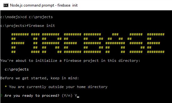 Installing Firebase 1