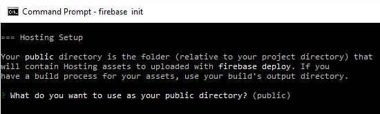 Installing Firebase 4