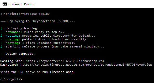 Intsalling Firebase 5